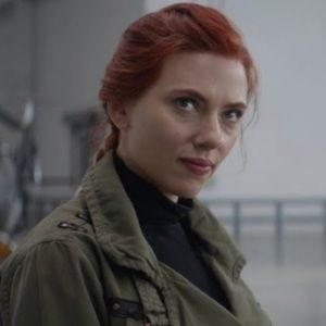 Paige Military Green Utility Jacket Black Widow M